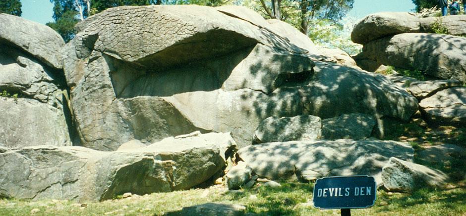 Devil's Den, Gettysburg, Pennsylvania
