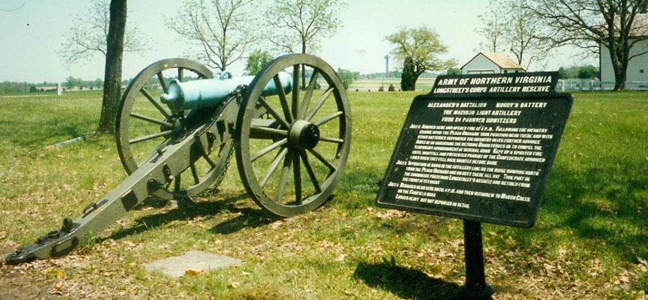 Napoleon at Seminary Ridge, Gettysburg