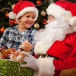 santa-and-boy